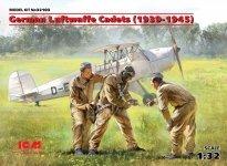 ICM 32103 German Luftwaffe Cadets (1939-1945) (3 figures) 1/32