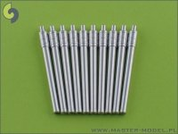 Master SM-350-009 IJN 36cm/45 (14in) Vickers and 41st Year Types barrels (8pcs)