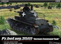 Academy 13313 Pz.bef.wg.35(t) German Command Tank