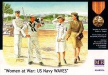 Master Box 3556 Women at war - US Navy Waves (1:35)