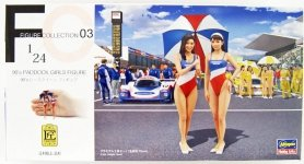 Hasegawa FC03 90's Paddock Girls Figure 1/24