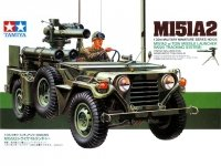 Tamiya 35125 U.S. M151A2 w/TOW Missile Launcher (1:35)