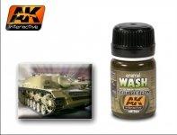 AK Interactive AK 300 Dark Yellow Wash 35ml