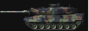 Border Model BD0020 Leopard 2 A7 Camouflage 1/35