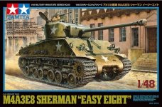Tamiya 32595 M4A3E8 Sherman Easy Eight 1/48