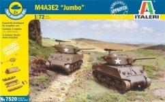 Italeri 7520 M4A3E2 Sherman Jumbo (1:72)
