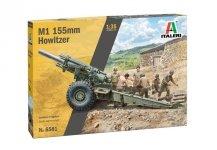Italeri 6581 M1 155mm Howitzer 1/35