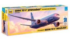 Zvezda 7021 Boening 787-9 Dreamliner 1/144