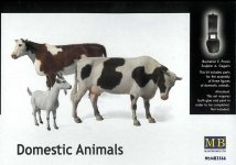Master Box 3566 Domestic Animals (1:35)