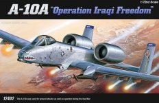 Academy 12402 A-10A (OPERATION IRAQ FREEDOM) (1:72)