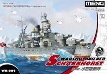 Meng Model WB-002 Warship Builder Series Scharnhorst