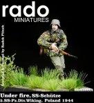 RADO Miniatures RDM35004 Under fire SS-Schutze 5.SS-Pz.Div. Wiking Poland 1944 1/35