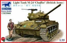 Bronco CB35068 Light Tank M-24 Chaffee (British Version) (1:35)