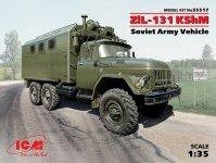 ICM 35517 ZiL-131 KShM Soviet Army Vehicle (1:35)