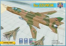 Modelsvit 72051 Su-22UM3K advanced two-seat trainer (Export vers.) 1/72