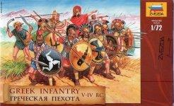 Zvezda 8005 Greek infantry V-IV BC (1:72)