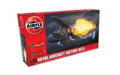 Airfix 02101  Royal Aircraft Factory BE2c - Night Fighter