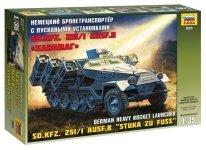 Zvezda 3625 Sd.Kfz.251/1 Ausf.B Stuka zu Fuss (1:35)