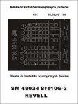Montex SM48034 Me-110 G-2 REVELL