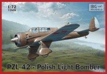 IBG 72509 PZL 42-Polish Light Bomber (1:72)
