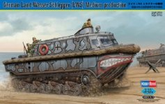 Hobby Boss 82433 German Land-Wasser-Schlepper (LWS) Medium production (1:35)