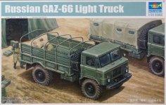 Trumpeter 01016 Russian GAZ-66 Light Truck I (1:35)