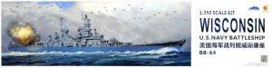 Very Fire VF350912 U.S. Navy Battleship BB-64 Wisconsin 1/350