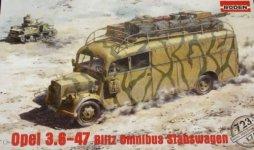 Roden 723 Opel 3.6-47 Omnibus Staffwagen (1:72)