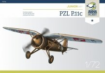 Arma Hobby 70016 PZL P.11c Junior Set 1/72