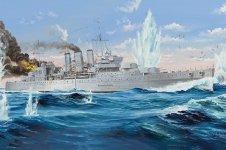 Trumpeter 05353 HMS Cornwall 1/350