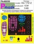 P-Mask PK48050 DORNIER DO17Z-2 (ICM) (1:48)