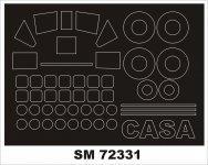 Montex SM72331 CASA C.212 SPECIAL HOBBY 1/72