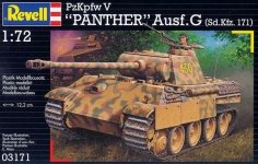 Revell 03171 PzKpfw V Panther Ausf.G (1:72)
