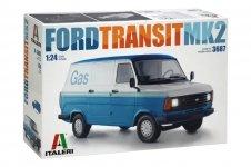 Italeri 3687 FORD TRANSIT MK2 1/24