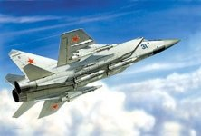 Zvezda 7229 MiG-31 1/72
