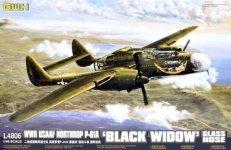 Great Wall Hobby L4806 Northrop P-61A Black Widow Glass Nose (1:48)