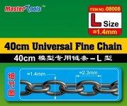 Trumpeter 08008 40CM Universal Fine Chain L Size 1.4mmX2.3mm