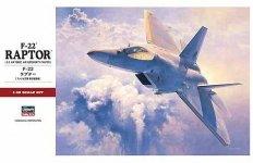 Hasegawa PT45 F-22A Raptor (1:48)