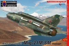 Kozavody Prostejov KPM0098 MiG-21M/SM (1:72)