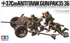 Tamiya 35035 German 37mm Anti-Tank Gun Pak 35/36 (1:35)