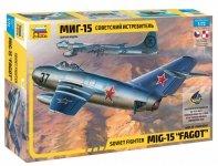 Zvezda 7317 Soviet fighter MiG-15 (1:72)