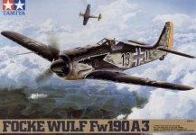 Tamiya 61037 Focke-Wulf Fw190 A-3 (1:48)