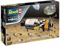 Revell 03700 Apollo 11 Columbia-Eagle 1/96