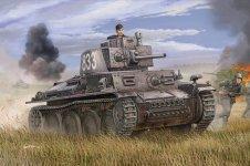 Trumpeter 01577 German PzKpfw 38(t) Ausf.E/F (1:35)