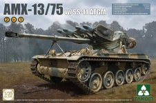 Takom 2038 AMX-13/75 SS11 ATGM French Light Tank