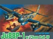 Dragon 5543 Ju-88P-1 w.75mm Pak40 (1:48)