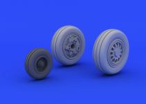 Eduard 672040 F-16CJ Block 50 wheels 1/72 (TAMIYA)