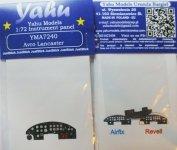 Yahu YMA7240 Lancaster (Airfix) 1:72