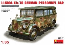 Miniart 35147 L1500A Kfz.70 German Personnel Car (1:35)