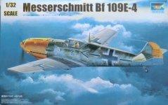 Trumpeter 02289 Messerschmitt Bf-109 E-4 (1:32)